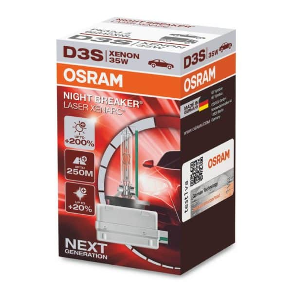 D3S | OSRAM XENARC Night Breaker Laser
