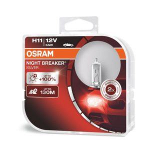 H11 | OSRAM Night Breaker Silver