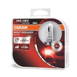 H4 | OSRAM Night Breaker Silver