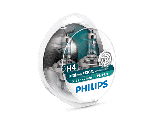 H4 | Philips X treme Vision +130%