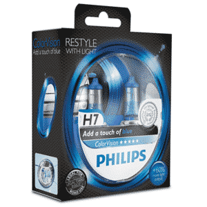H7 | Philips ColorVision Blå