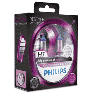 H7 | Philips ColorVision Lilla