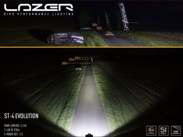 Lazer ST4 Evolution LED