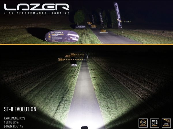 Lazer ST8 Evolution LED